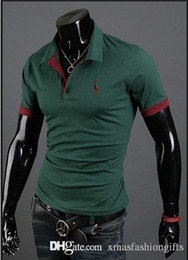 Blank for printing online shopping - Fashion Summer T Shirt Brand Designer Men T Shirts New Blank Short Cotton Sleeves Male poloshirt Luxury Casual Tee polo Shirts for sale