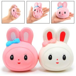 Jetting Kawaii Squeeze Stretchy Cute Pendant Bread Cake Kids Toy Giftslow Rising Mini Mochi Bunny Phone Strap Pig Ball Squishy Mobile Phone Straps