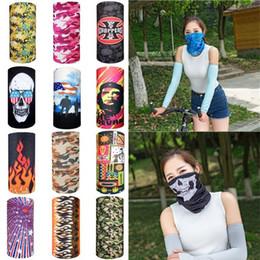 ski mask hats 2019 - Multi bike motorcycle helmet face mask half mask CS Ski Headwear Neck cycling pirate headband hat cap halloween mask pir