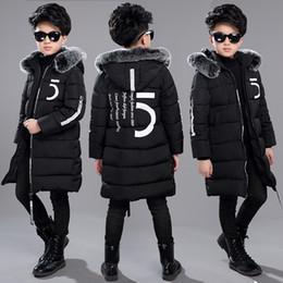 baf2ed0a49d 12 Детская одежда 13 мальчиков 14 зимняя одежда 15 куртка 2018 новый  толстый хлопок утолщение 10 лет дети -30 градусов