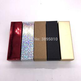 Colored Lipsticks NZ - 25*25*85mm Empty Lip Tube Packing Boxes, Colored Paper Packing Box for Lip Tubes, Empty Lipstick Tube Packing Boxes F1158