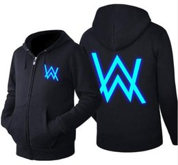 0dde0e40b New arrived Cotton hoodie men Sweatshirts Music DJ Comedy Alan Walker Hip  Hop Hoodie Black Gray Jacket Men Clothes Fashion Hooded Hombre
