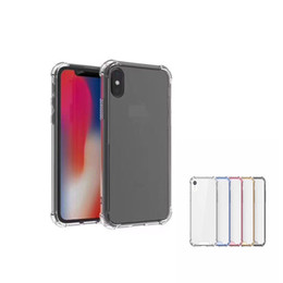 samsung prime soft case NZ - Shock Proof TUP Soft Case For iphone XS MAX   XS   XR X 8 7 6 Back Clear CASE For Samsung S8 J7 Prime