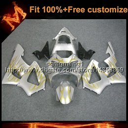 cbr929rr fairings Australia - 23colors8Gifts Injection mold silver motorcycle panels for HONDA CBR929RR 2000-2001 CBR 929 RR 00 01 ABS Plastic Fairing