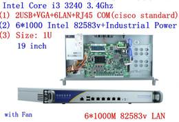 Lga1155 inteL online shopping - Intel LGA1155 i3 Proecssor U Network hardware firewall appliance security router firewall server