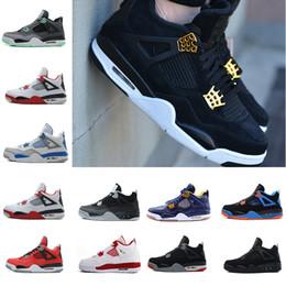 Cheap Wrestling Boots NZ - Wholesale Men Shoes 4 Basketball Mens Cheap 4s Boots Authentic Online For Sale Sneakers Men Sport Shoes Size 41-47 US 8-13