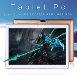 Wholesale pulgadas diseño Original 3G llamada de teléfono Android 6,0 Quad Core IPS Tablet pc WiFi 2G + 16G78910 android tablet pc2GB16GB