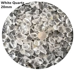 $enCountryForm.capitalKeyWord Canada - C01 20mm Brazil White Crystal Natural Stone Chips Gravels Block Quartz Aquarium