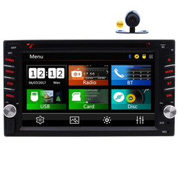 "China Double Din Car Stereo In-Dash FM RDS Radio 6.2"" Car DVD Player Bluetooth Steering Wheel Control USB TF Subwoofer AUX 1080P Video+camera supplier radio controlled camera suppliers"