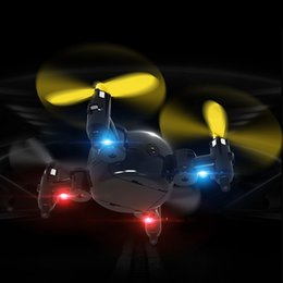 Ufo 4ch online shopping - 2 G Mini RC Drone CH Axis Gyro Altitude Hold High LED UFO RC Quadcopter Drone RTF Remote Radio Control Helicopter Quadcopter Toys
