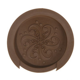 "$enCountryForm.capitalKeyWord UK - Sound Hole Cover Block Plug Screeching Halt for 40"" 41"" EQ Acoustic Guitar Brown"