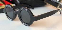 $enCountryForm.capitalKeyWord Canada - New Vintage Round Sunglasses Small Frames Letters Avant-Garde Sunglass Fashion UV400 Lens Shades Sun Glasses For Men Women Hipster Sunglass