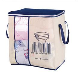 de5beb674a8d Clothing Weaving UK - 28 46 51cm Non-woven Clothes Storage Bag Organizer