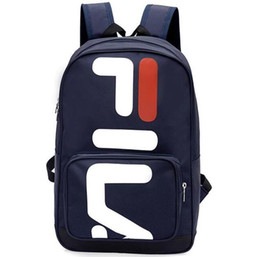 $enCountryForm.capitalKeyWord NZ - Trendy explosions big logo backpack men and women students couples large capacity travel leisure sports bag free shipping