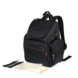 Multi Function Handbag Backpack NZ - Fashion Mummy Bag Large Capacity Waterproof Stroller Bags Double Shoulder Multi-function Backpack Baby Diaper Handbag MBG0028