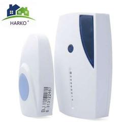 Timbre Inalámbrico para el Hogar 36 Campanas Tunes 100M Alcance de Control Remoto Digital Timbre LED Receptor Campainha en venta
