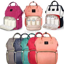 Nursing Mothers Clothing Canada - Diaper Bags Mommy Backpack Nappies Backpack Fashion Mother Maternity Backpacks Outdoor Nursing Travel Storage Bags 13 Color WX-B15