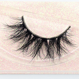 Wholesale Cosmetic eye beauty tools mink eyelash extensions private label strip lashes d mink lashes eyelash E11
