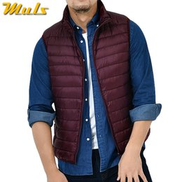 $enCountryForm.capitalKeyWord NZ - 8Colors Winter Autumn 90% White Duck Down Vest Men Keep Warm Male parka Sleeveless Coat Man Muls Brand Cothing Feather Outwear