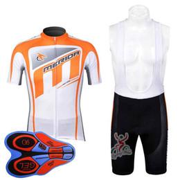 e067eafe668 MERIDA team Cycling Short Sleeves jersey (bib) shorts sets Men s Bicycle  Cycling Clothing Bike Wear Shirts Ropa Ciclismo Mtb 92026F