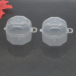 China Portable Baby Pacifier Box PP Plastic Infant Pacifier Nipple Cradle Case Holder Storage Box Clear Travel F20173367 suppliers
