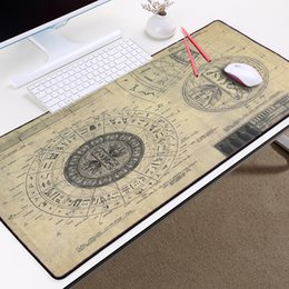 Wholesale Mairuige STARGATE SG Design Drawings Style Pattern Mousepad Mice Mat Pad Overlock Edge Large Size for Decorative Desktop