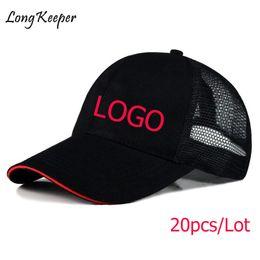 e31983238a8 Long Keeper Wholesale Flat Brim Cap Blank Baseball Hats for Men Women Print  LOGO Custom Hip Hop Adult Casual Gift Hats 20pcs lot