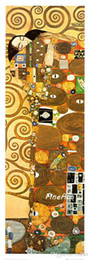 $enCountryForm.capitalKeyWord Australia - 100% hand painted gustave klimt painting masterpiece deco artwork reproduction canvas art wall oil painting art nature painting bedroom deco