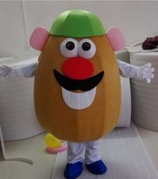 Discount potato mascot - EVA Material Male style potato Mascot Costumes Cartoon Apparel Birthday party Masquerade WS886