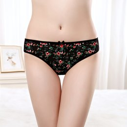 99bd5a4b521f Pack of 12 Low Rise Print Little Thong Cheeky Lady G-String Lady Panties  Sexy Women Underwear Women T-back intimate Hot Lingerie Wholesale