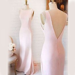 $enCountryForm.capitalKeyWord NZ - 2018 Pink Navy Cheap Long Bridesmaid Dresses Mixed Neckline Flow Chiffon Summer Blush Bridesmaid Formal Prom Party Dresses with Ruffles