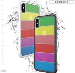 glasses case material NZ - Fashion Phone Case For IphoneXS(5.8),IphoneXR(6.1),IphoeXS MAX(6.5),Iphone7 8,Iphone6 6S,The Toughened Glass+ TPU Material Cell Phone Case.