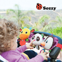 $enCountryForm.capitalKeyWord Australia - SOZZY infant stuffed animals children's teether grommet with music and light carriage bed hanging baby rattles plush cartoon Toys