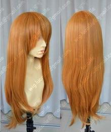 Clip Charms Free Shipping Australia - free shipping Charming beautiful Hot Quality EVA Asuka Soryu Asuka Langley Orange Clip Ponytail Cosplay Wig