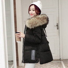 Womens Parkas Australia - New 2018 Down Coat Women Winter Hooded Warm Coat Plus Size 6XL High Quality Fur Collar Jacket Female Parka Womens Outerwear