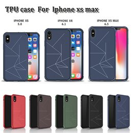 SheetS caSe online shopping - Factory price TPU case slim luxury shockproof cellphone protector back cover with sheet metal inside fit for magnetic holder for iphone XS