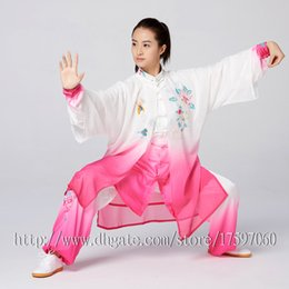 $enCountryForm.capitalKeyWord Australia - Chinese Tai chi clothing Kungfu uniform taiji sword suit Routine outfit embroidered garment for women men girl boy children adults kids