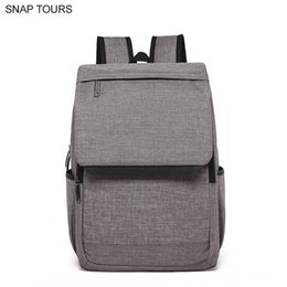 8ea049e6fdef SNAP TOURS Brand Simple Design Waterproof Laptop Men Small Backpack For  Teens Korean Fashion Male Casual Backpacks School Bag