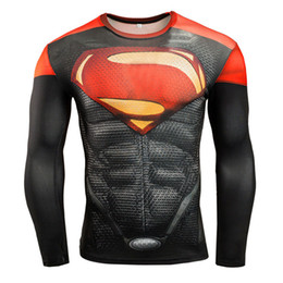 Jerseys Wolf Australia - Mens Compression Shirts 3D Teen Wolf Jerseys Long Sleeve T Shirt Fitness Men Lycra MMA Crossfit T-Shirts Tights Brand Clothing C14