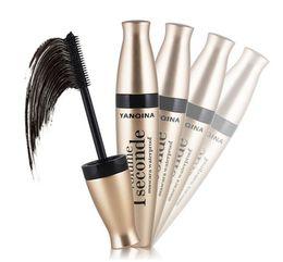 New arrivals mascara online shopping - YANQINA Brand New Arrival Black Eye Mascara Long Eyelash Silicone Brush Curving Lengthening Mascara Waterproof Makeup