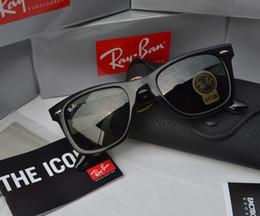 Real imagem 54mm frete grátis 2018 Ray óculos de sol das mulheres dos  homens de marca 501a39a960