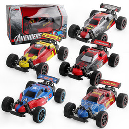 HigH electric sHock online shopping - 2 GH Micro RC Car High Speed Suspension Shock Colors PVC Car Shell Rubber Tires