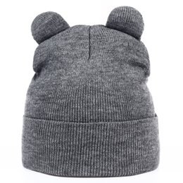 $enCountryForm.capitalKeyWord NZ - VORON new Women Autumn And Winter Devil Horns Cat Ear Cute Crochet Braided Knit Beanie Ski Wool Warm Cap Hat