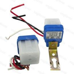 Dimmers Фотосузной датчик 24V 12V 110V 220V 10A AUTO AC DC на выкл. Пластиковый фотоэлемент для уличного света Выключатель высокого качества DHL на Распродаже