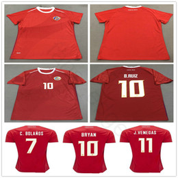 7f88b1da3 2018 World Cup Women Costa Rica Soccer Jersey 19 K.WASTON 12 CAMPELL 10  BRYAN 11 J.VENEGAS Custom Mens Ladies Football Shirt
