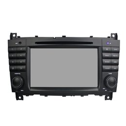 7inch screen phone Canada - Car DVD player for Benz C-Class W203 7Inch 4GB Ram Octa core Andriod 8.0 with GPS,Steering Wheel Control,Bluetooth, Radio