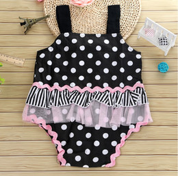 Beautiful Infants NZ - Children Clothing Lace Floral Baby Girls Romper 2018 Promotion Special Summer Beautiful Pink Rompers Infant Sleeveless Jumpsuit