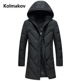 mens hats xl 2019 - Free shipping 2018 winter Men's fashion down jacket mens thicken 90% white duck down coats men jacket men,winter me