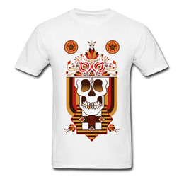 52df5aab25c0 Hip Hop Death Skull Folk Art Tattoo Top T Shirts Print Tops Shirt Round  Collar Sweatshirts Summer Cool Awesome Great Tshirt