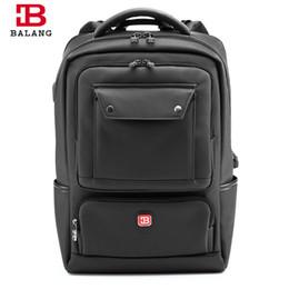$enCountryForm.capitalKeyWord Canada - BALANG 2018 New Men Laptop Backpack Women Large Capacity Notebook Computer Rucksack Waterproof School Bag Backpacks for Teenager